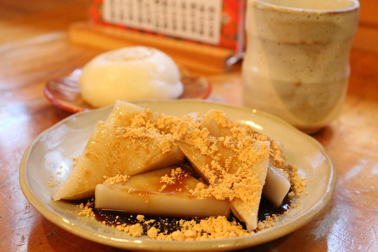 石鍋久寿餅店