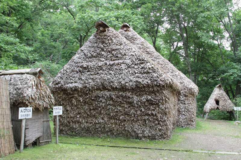 旭川市博物館分館アイヌ文化の森伝承のコタン