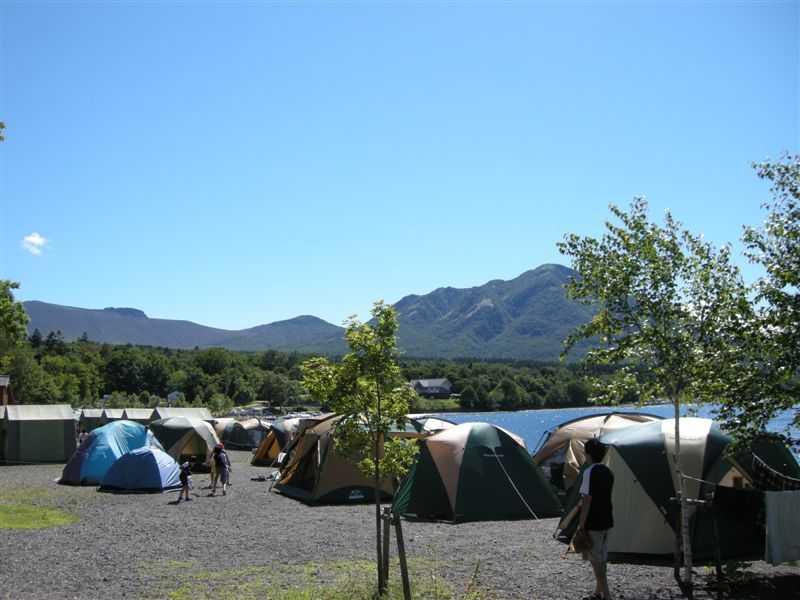 休暇村支笏湖モラップキャンプ場