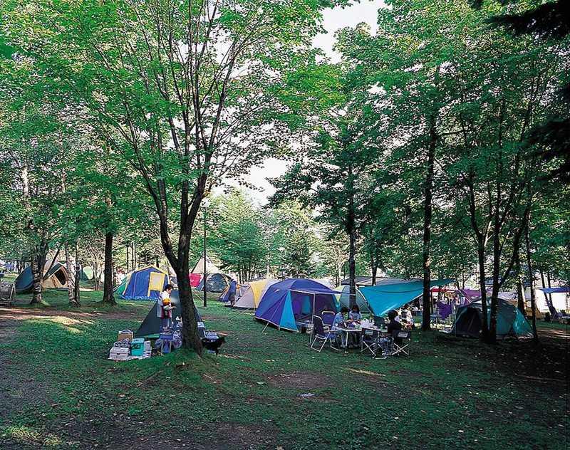 とうまスポーツランドキャンプ場