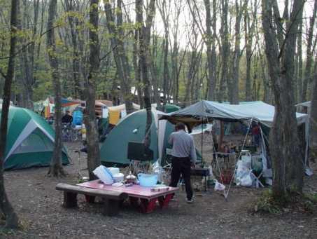 とことん山キャンプ場