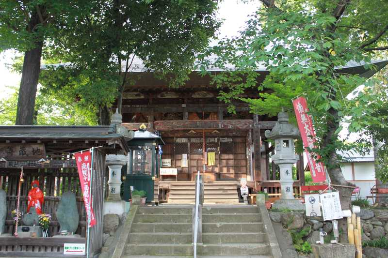 実正山定林寺(第17番札所)