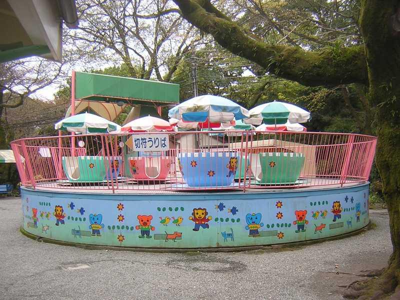 小田原市城址公園子供遊園地