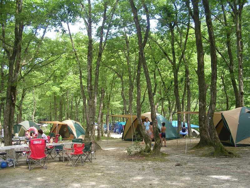 五十沢キャンプ場