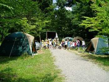 大平森林公園キャンプ場
