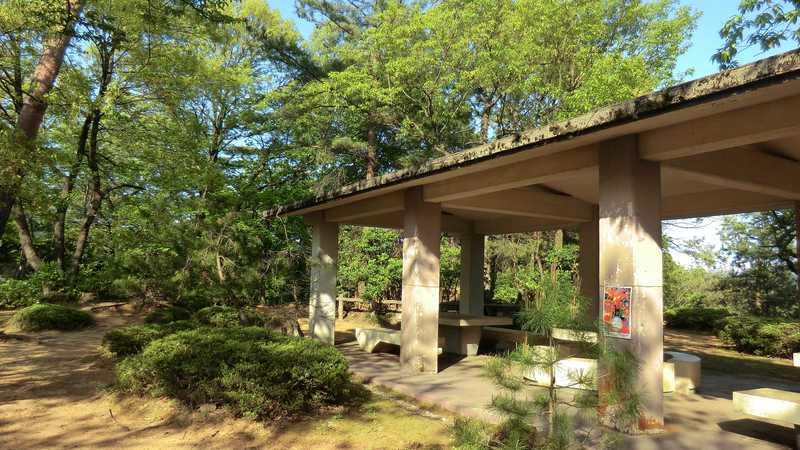 南砺市安居寺公園