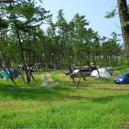 休暇村能登千里浜キャンプ場