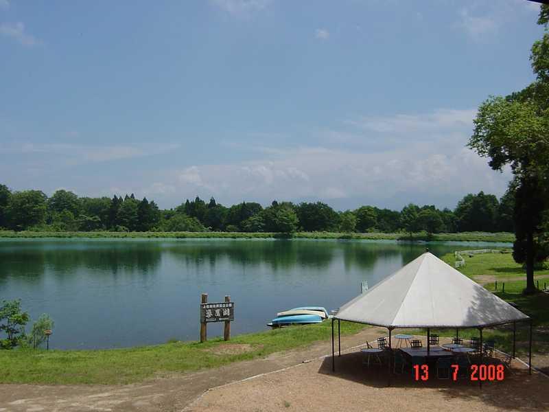 スタカ湖キャンプ場