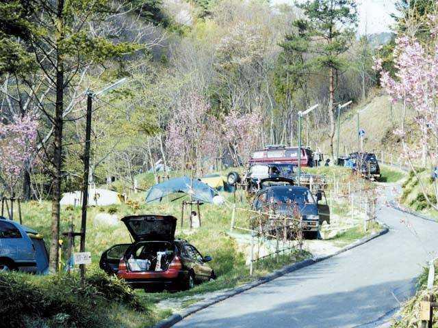 南木曽温泉キャンプ場