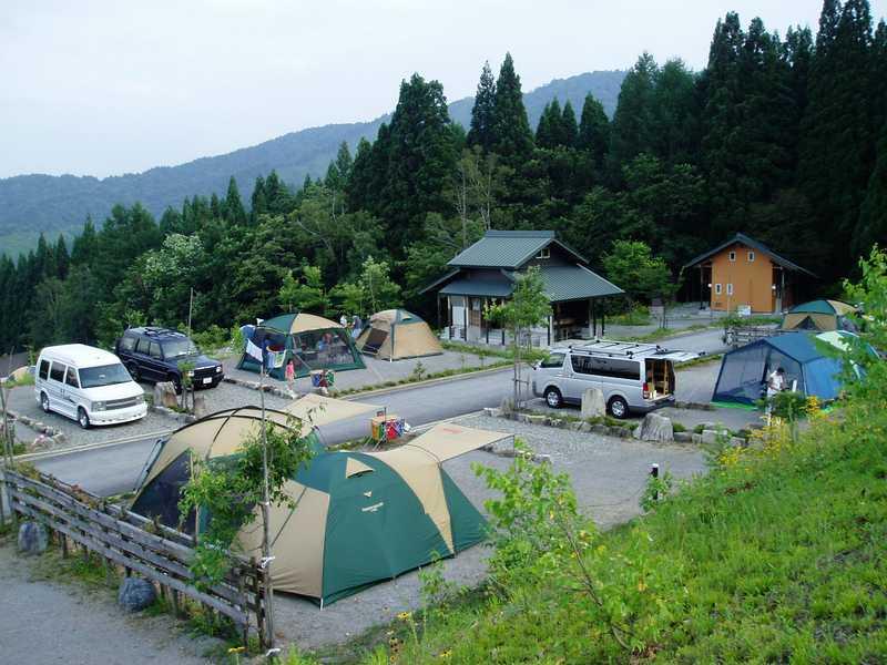 ひだ流葉オートキャンプ場