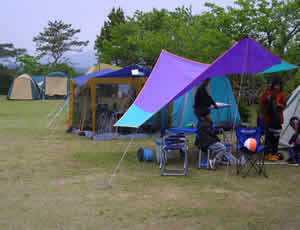 志摩市ともやま公園キャンプ村