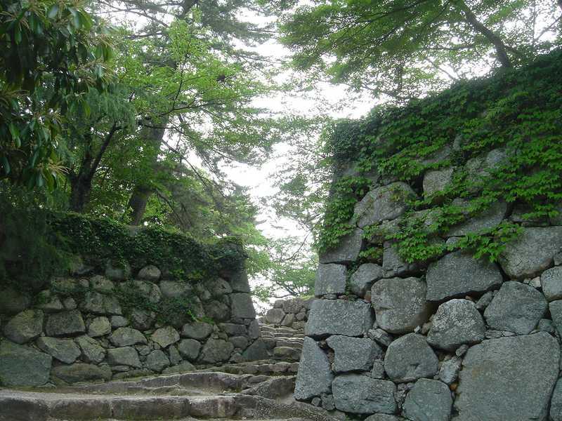 県指定史跡松阪城跡