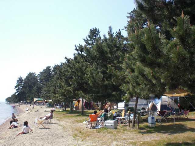 マキノサニービーチ知内浜オートキャンプ場