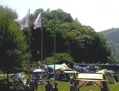 川西市知明湖キャンプ場
