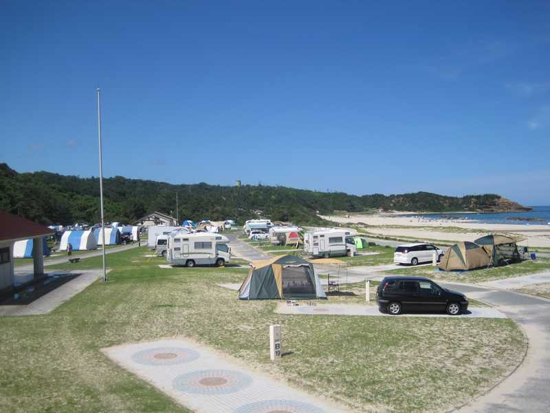 島根県立石見海浜公園オートキャンプ場