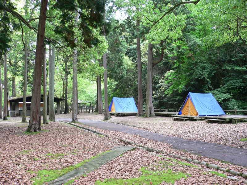 宮島包ヶ浦自然公園キャンプ場