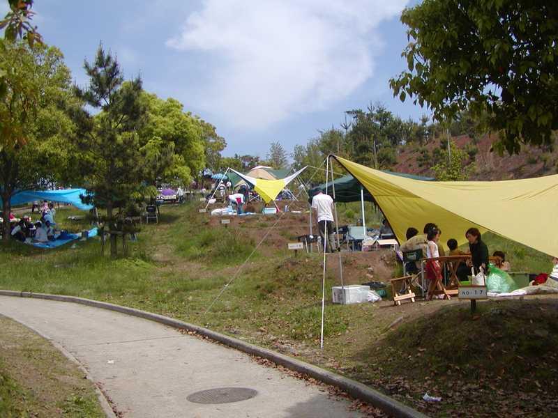 和木町蜂ケ峯総合公園キャンプ場