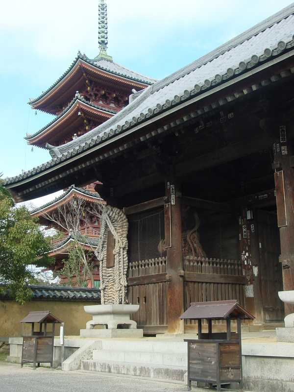 志度寺(第86番札所)