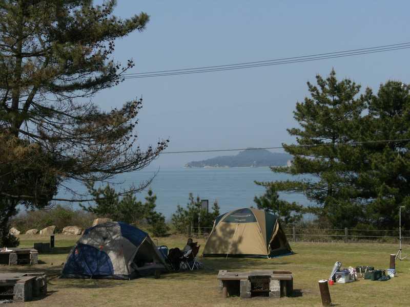休暇村瀬戸内東予シーサイドキャンプ場