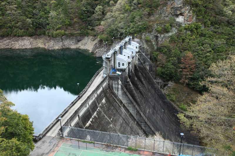 金砂湖(柳瀬ダム)