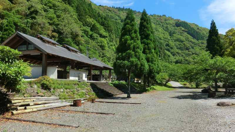 安田川アユおどる清流キャンプ場