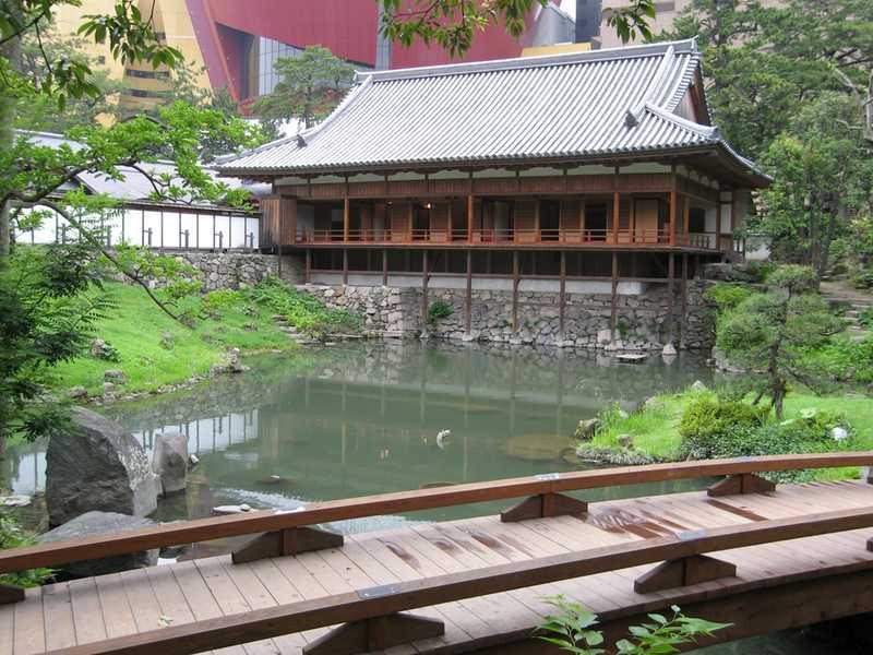 小倉城庭園(小笠原会館)