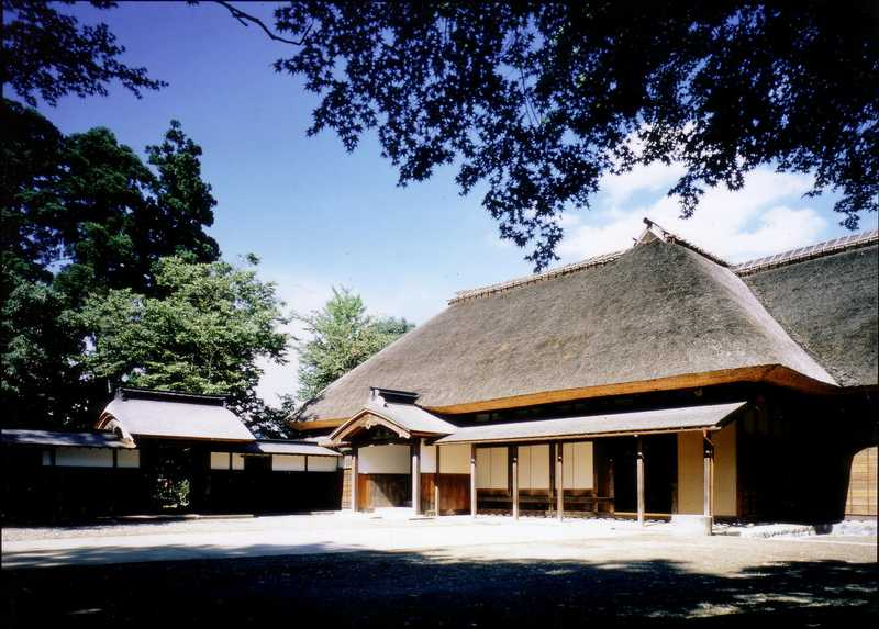 重要文化財旧長谷川家住宅