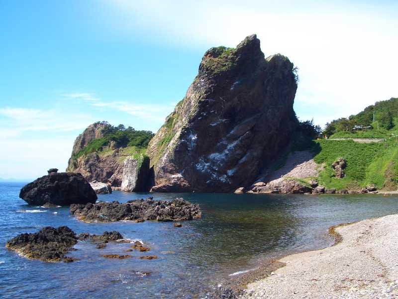 がんかけ岩の画像