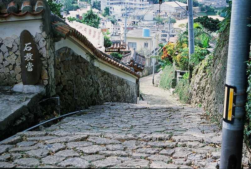 金城町石畳道の画像