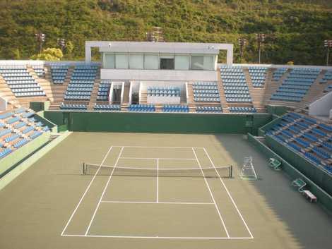広島広域公園テニスコート の ...