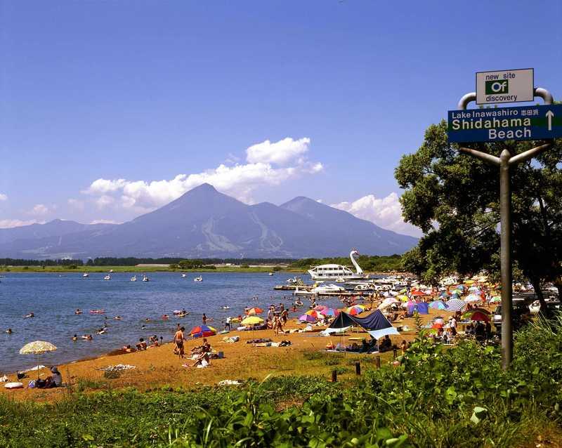 志田浜湖水浴場