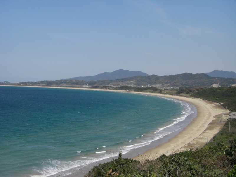 白石浜海岸