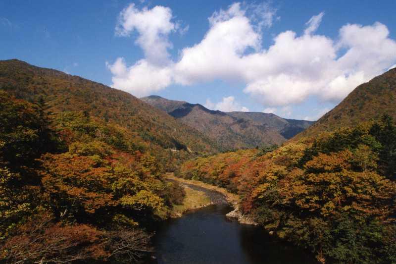 幌満川渓谷