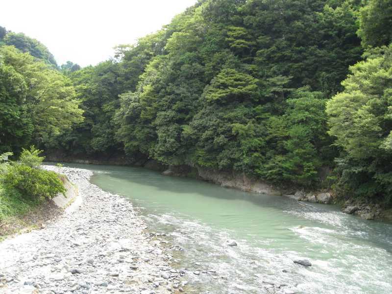 道志川渓谷