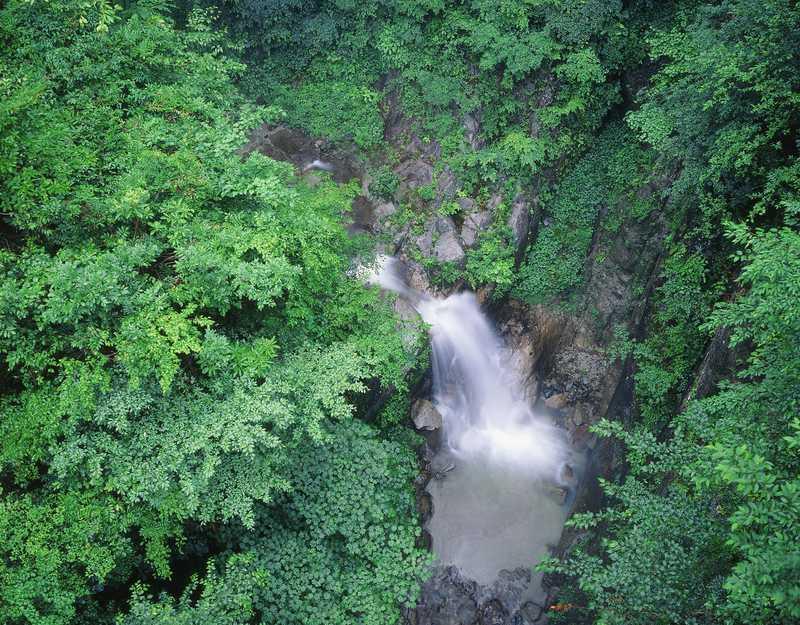 大武川渓谷