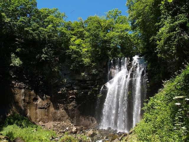 アシリベツの滝の画像