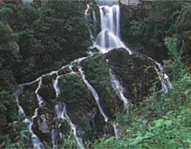 扇落滝の画像