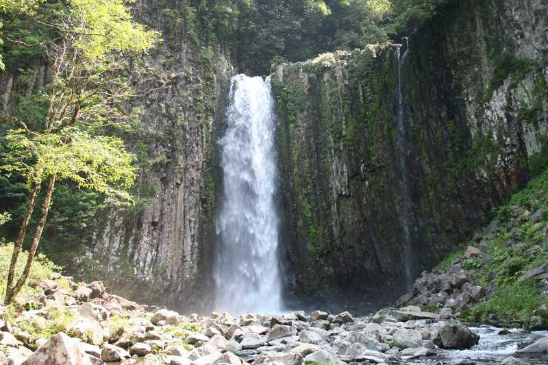 鹿目の滝の画像