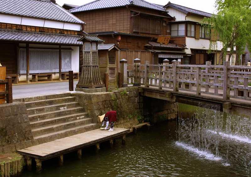 樋橋の落水