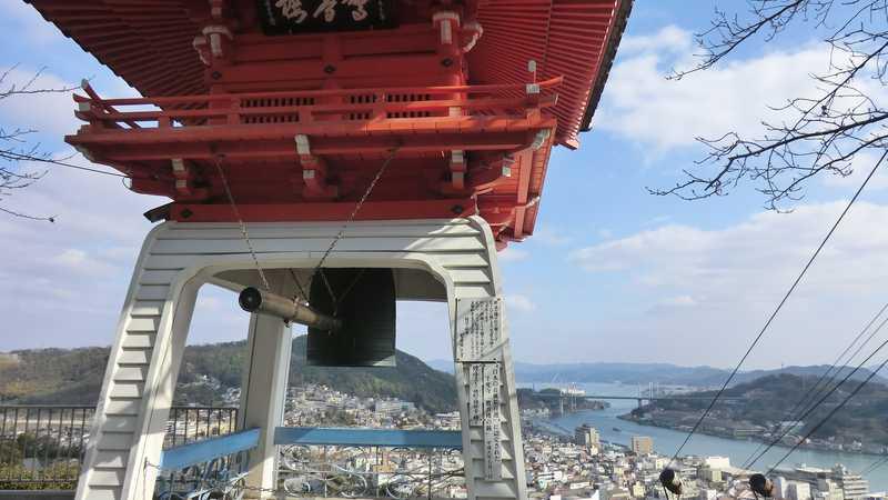 千光寺驚音楼の鐘