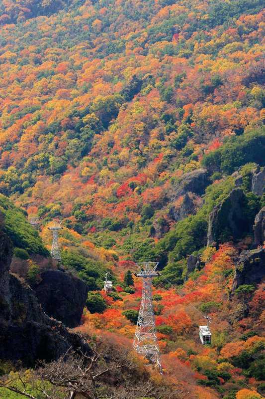 寒霞渓ロープウェイ(山麓)