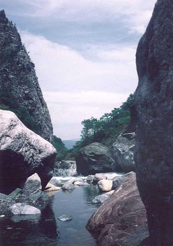 小滝ヒスイ峡