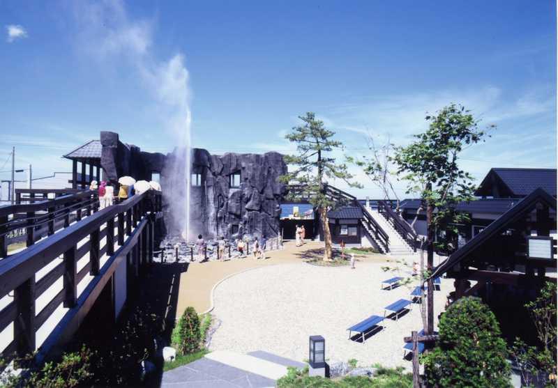 しかべ間歇泉公園