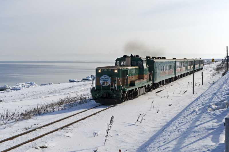 オホーツク流氷ノロッコ号