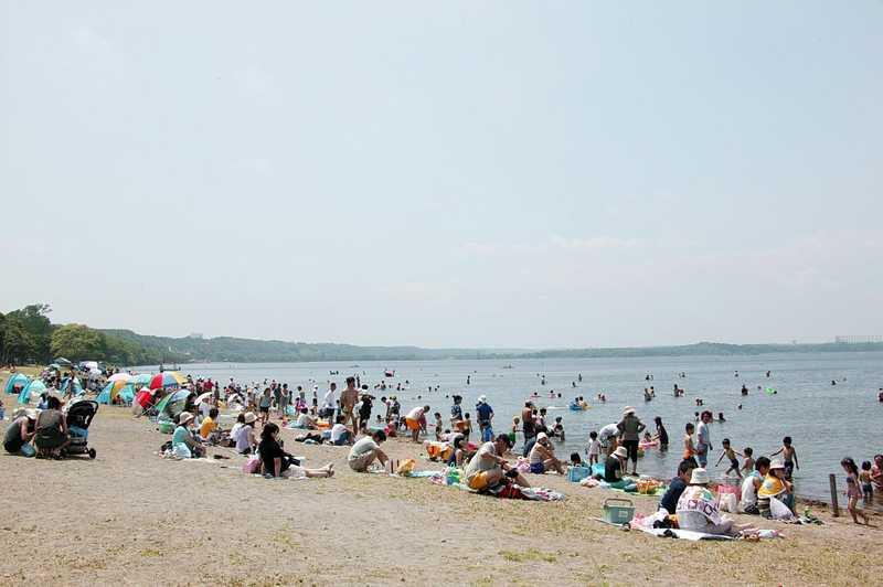 小川原湖湖水浴場