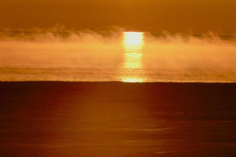 釧路の海霧