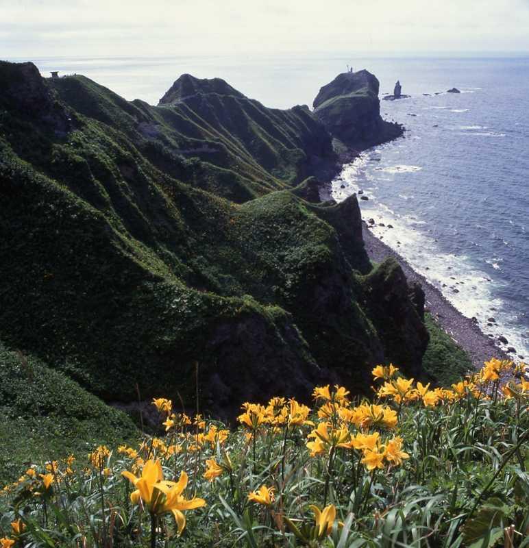 神威岬展望台