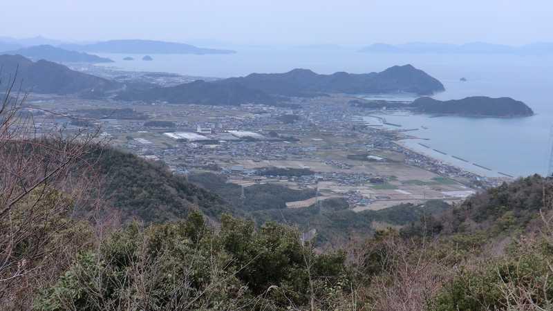 大坂峠展望台