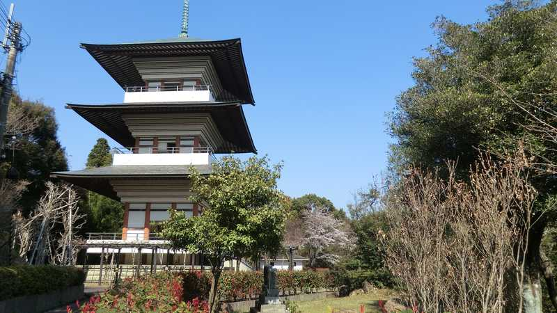 香山寺三重の塔展望台