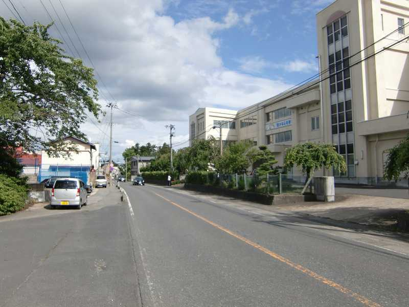 西小野田小学校付近